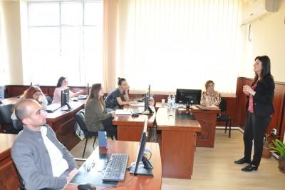 Elmi-Tədqiqat Hissəsinin təşkilatçılığı ilə növbəti treninq
