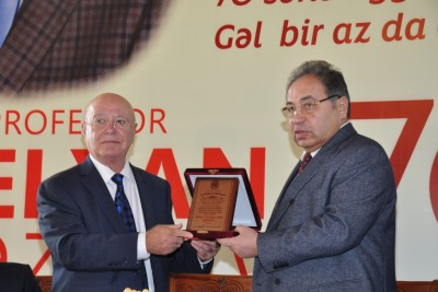 Professor Elxan Əzizovun 70 illik yubileyi keçirilib