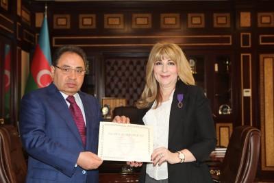 BDU-nun kafedra müdiri Fransanın Akademik Palma ordeni ilə təltif edilib