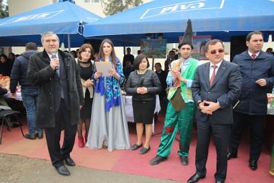 BDU-nun Qazax filialında Novruz şənliyi keçirilib