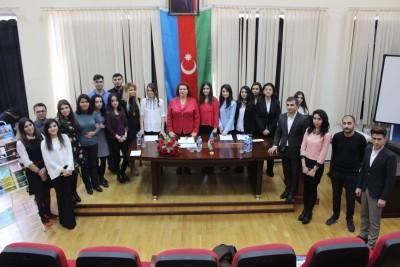 """""""Qafqaz xalqları tarixinin aktual problemləri"""" mövzusunda elmi seminar"""