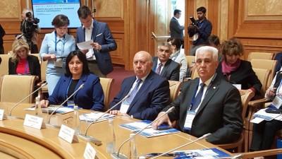 Prorektor İradə Əliyeva Rusiya və Azərbaycan Universitetləri Assosiasiyasın ...