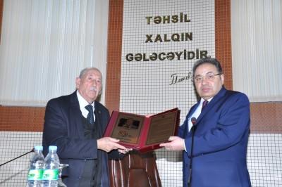 Professor Abuzər Xələfovun 85 illik yubileyinə həsr olunmuş tədbir keçirili ...