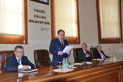 Professor Əziz Əsədovun 100 illik yubileyinə həsr olunmuş tədbir keçirilib