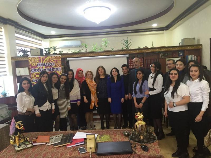"""""""Azərbaycan xalq mahnıları"""" adlı elmi seminar"""