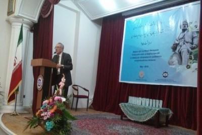 İran filologiyası kafedrasının əməkdaşları şair Əbülqasim Firdovsinin anım  ...