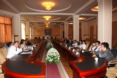 Bakı Dövlət Universitetində TEMPUS UNİVİA layihəsi çərçivəsində seminar