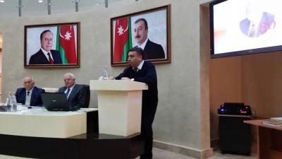Professor Cəfər Quluzadənin 80 illiyinə həsr olunan beynəlxalq elmi konfran ...