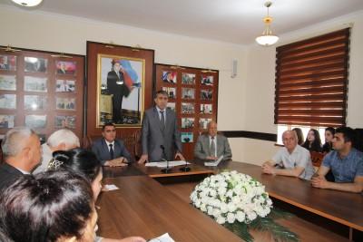 BDU-nun Qazax filialında Cümhuriyyətin 100 illiyinə həsr olunmuş elmi-prakt ...