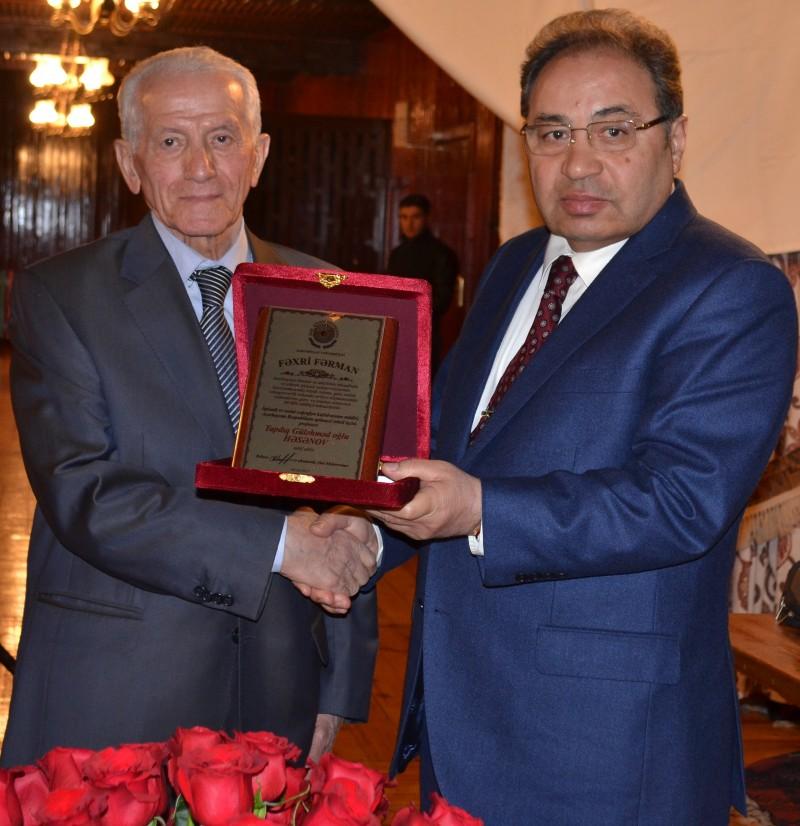 Professor Tapdıq Həsənovun 80 illik yubileyi keçirilib