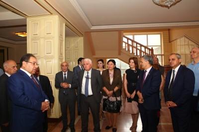 """Bakı Dövlət Universitetində yay imtahan sessiyası ilə əlaqədar """"Açıq qapı"""" günü keçirilib"""